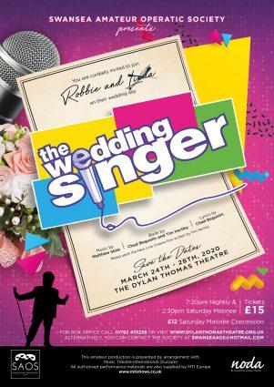 Poster for THE WEDDING SINGER