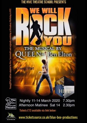Poster for WE WILL ROCK YOU