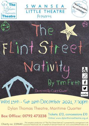Poster for THE FLINT STREET NATIVITY.