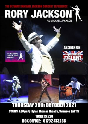 Poster for RORY as MICHAEL JACKSON!