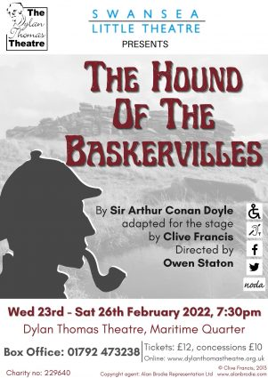 Poster for THE HOUND OF THE BASKERVILLES.